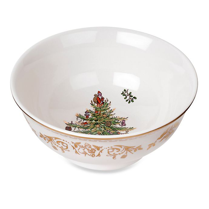Alternate image 1 for Spode® Christmas Tree Gold Small Bowl