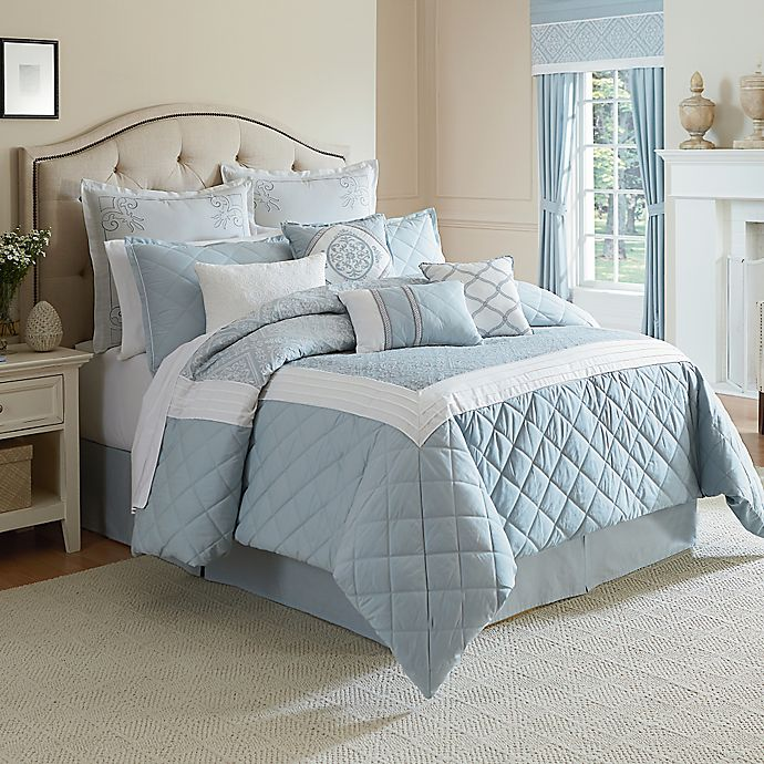 Bed Bath And Beyond Canada: Winslet Comforter Set In Blue