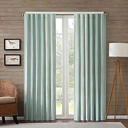 Edgewood Stripe Window Curtain Panel
