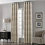 Valeron Lustre Grommet Top 84-Inch Window Curtain Panel in Ivory