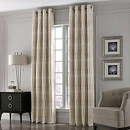 Valeron Lustre Grommet Top Window Curtain Panel