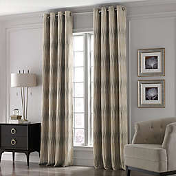 Valeron Lustre Grommet Top Window Curtain Panel