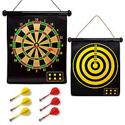 2-in-1 Magnetic Dart Board