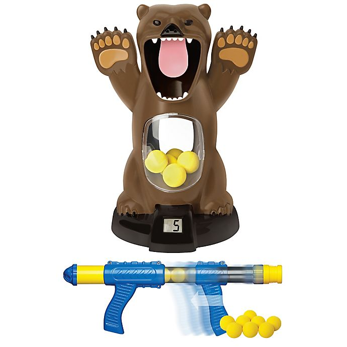 Alternate image 1 for Hungry Bear Electronic Shooting Game