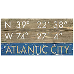 Atlantic City Framed Art