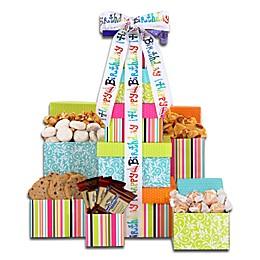Happy Birthday Tower of Treats