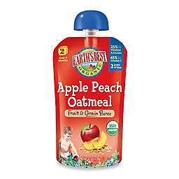 Earth's Best® Organic 4.2 oz. Apple Peach Oatmeal Fruit & Grain Puree