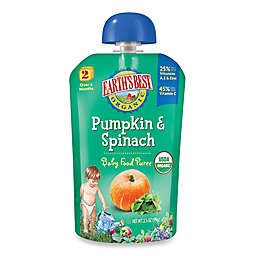 Earth's Best® Organic 3.5 oz. Pumpkin & Spinach Baby Food Puree