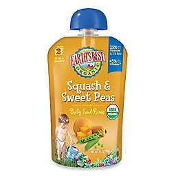 Earth's Best® Organic 3.5 oz. Squash & Sweet Peas Baby Food Puree