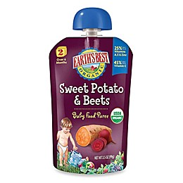 Earth's Best® Organic 3.5 oz. Sweet Potato & Beets Baby Food Puree
