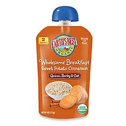 Earth's Best® Organic 4 oz. Wholesome Breakfast Sweet Potato Cinnamon