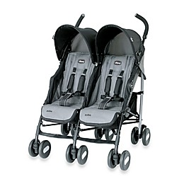 Chicco® Echo™ Twin Stroller in Coal