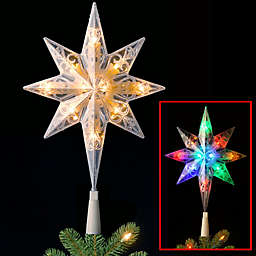 national tree pre lit 11 bethlehem star tree topper - Outdoor Christmas Tree Topper