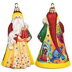 Gumball Santa Hanging Ornament