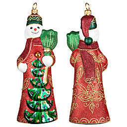 International Russian Snowman Hanging Ornament