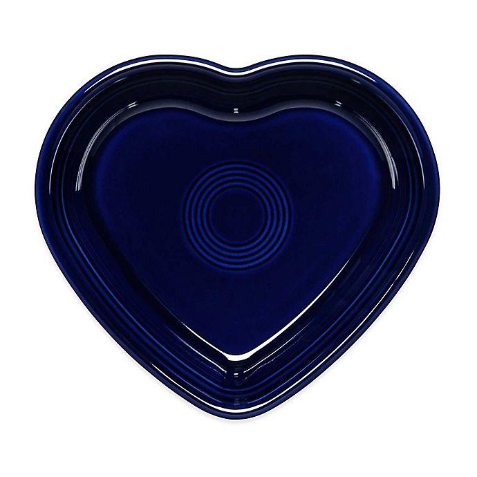 Alternate image 1 for Fiesta® Medium Heart Bowl in Cobalt Blue