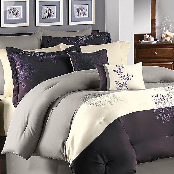 Alternate image 1 for Murell Comforter Set