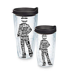 Tervis® Groom Tuxedo Words Wrap Tumbler with Lid