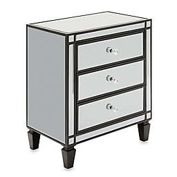 Verona Home Lenora Mirrored Accent Table