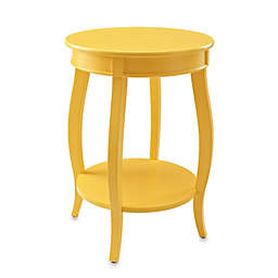 Powell Round Table with Shelf