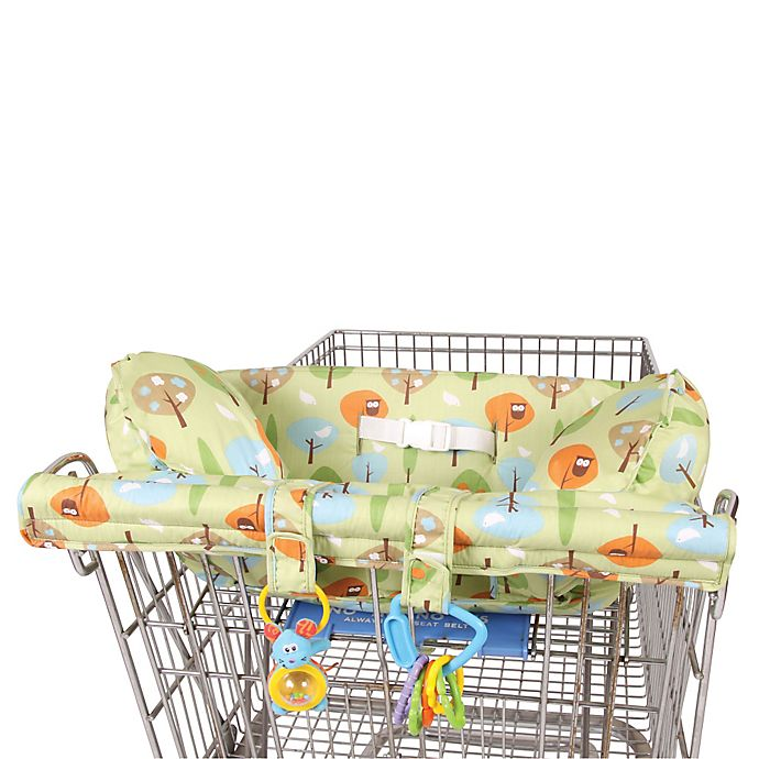 Alternate image 1 for Snoogle®  Prop 'R Shopper® Body Fit Shopping Cart Cover in Forest