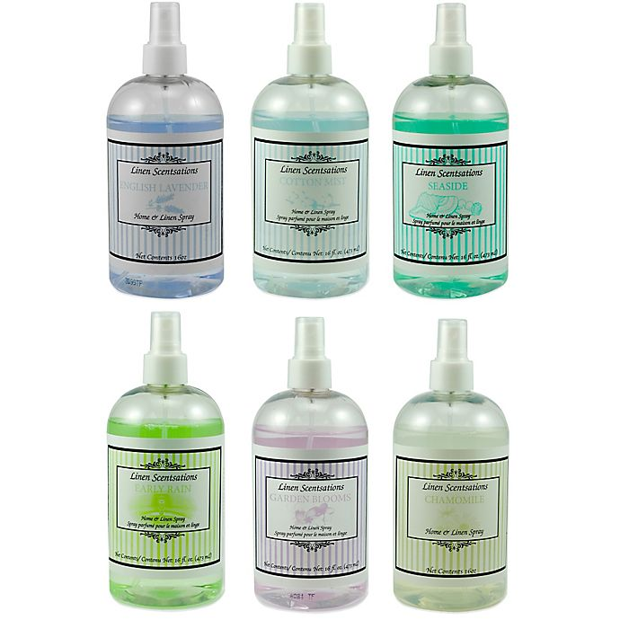 Linen Scentsations 16 Oz Home Linen Spray Bed Bath And Beyond