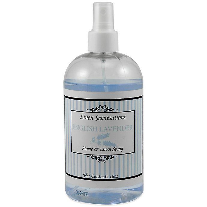 Alternate image 1 for Linen Scentsations 16 oz. English Lavender Home & Linen Spray