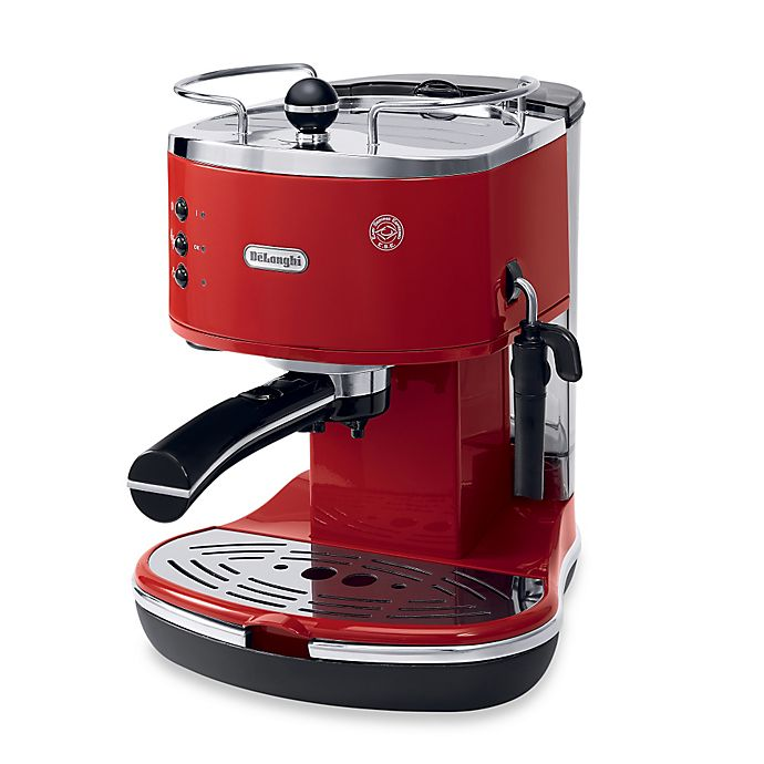 Alternate image 1 for De'Longhi Pump ECO310R Icona Espresso Maker in Red