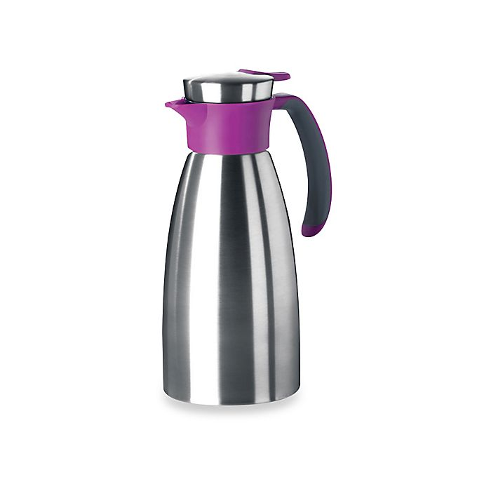 Alternate image 1 for Frieling Stainless Steel 51 oz. Thermal Insulated Carafe in Raspberry
