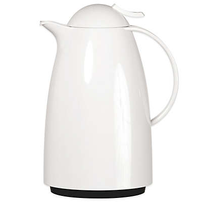 Frieling Auberge Quick-Tip Insulated Thermal Carafe in White