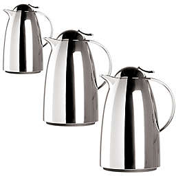 Frieling Auberge Quick-Tip Insulated Thermal Carafe in Chrome