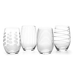 Mikasa® Cheers 17 oz. Stemless Wine Glasses (Set of 4)