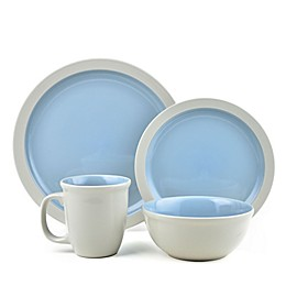 Thomson Pottery Mali 16-Piece Dinnerware Set in Blue