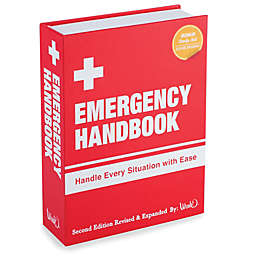 Emergency Handbook Book Flask