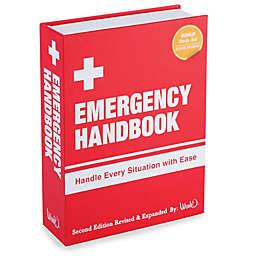 Emergency Handbook Book Flask
