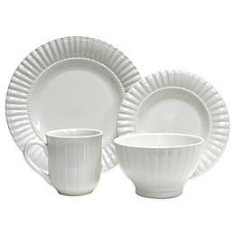 Thomson Pottery Maison 16-Piece Dinnerware Set in White