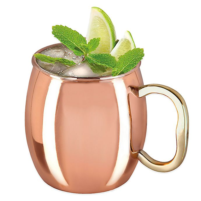 Alternate image 1 for Godinger Copper Plated Moscow Mule Mug