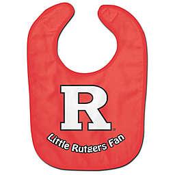Little Rutgers Fan All-Pro Style Bib in Red/White
