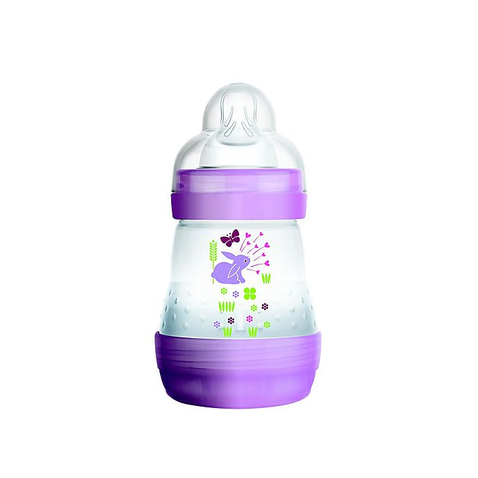 Alternate image 1 for MAM 5 oz. Anti-Colic Bottle in Pink