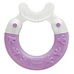 MAM Bite & Brush Teether in Pink