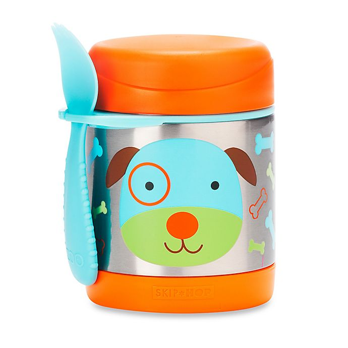 Alternate image 1 for SKIP*HOP® Zoo 11 oz. Insulated Food Jar in Dog