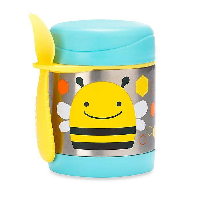 Alternate image 1 for SKIP*HOP® Zoo 11 oz. Insulated Food Jar in Bee