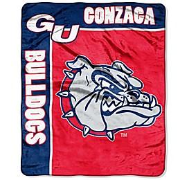 Gonzaga University Raschel Throw Blanket