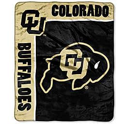 University of Colorado Raschel Throw Blanket
