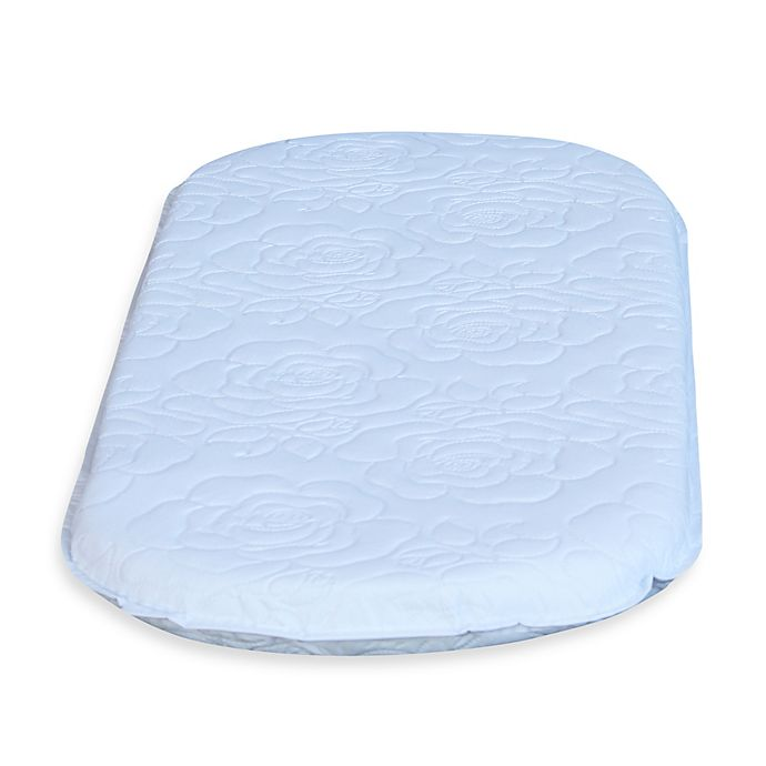 Alternate image 1 for Colgate Mattress Oval Bassinet Mattress in White