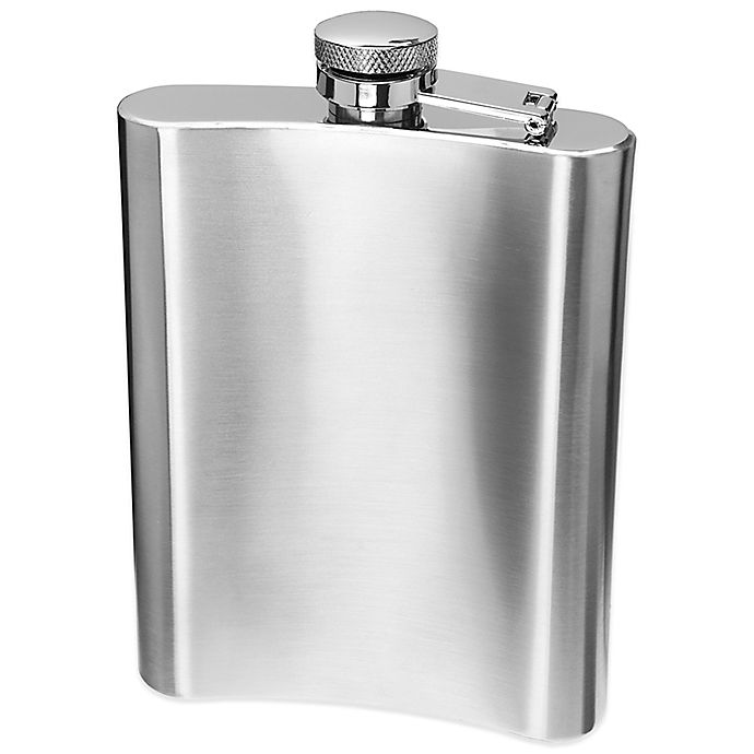 Alternate image 1 for Oggi™ Stainless Steel Hip Flask with Funnel
