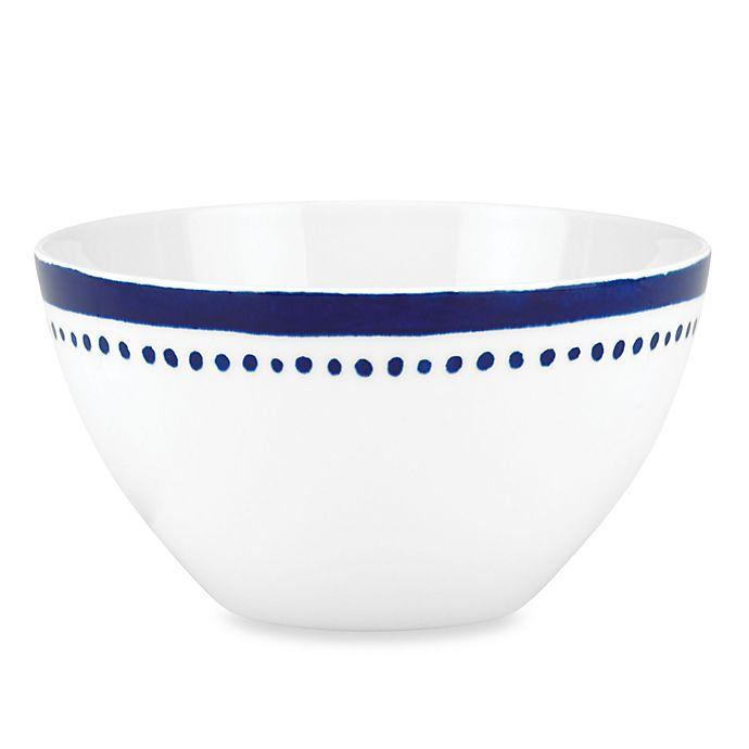Alternate image 1 for kate spade new york Charlotte Street™ West Soup/Cereal Bowl in Indigo