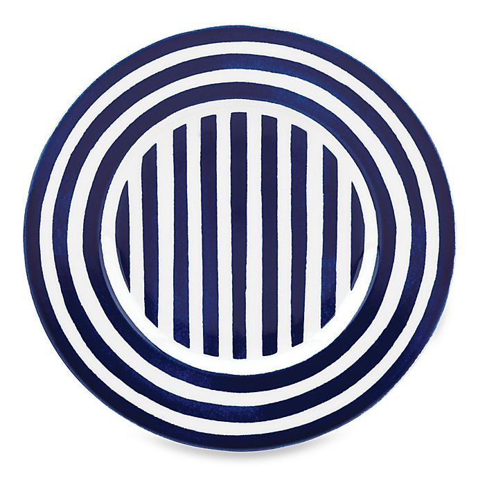Alternate image 1 for kate spade new york Charlotte Street™ North Accent Plate in Indigo