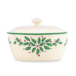 Lenox® Holiday™ 32 oz. Covered Casserole Dish