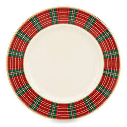Lenox® Winter Greetings® Plaid Salad Plate
